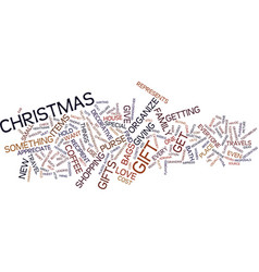 Great gifts under text background word cloud vector