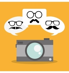 Hipster and fashion style design vector