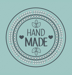 vintage hand made logotypes and labels vector image