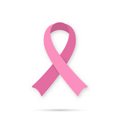 Breast cancer awareness icon vector