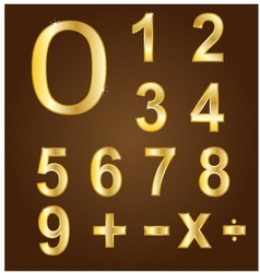 Gold numbers vector
