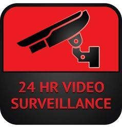 Cctv symbol surveillance pictogram vector