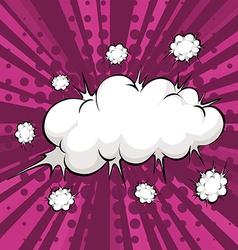 Cloud explosion vector