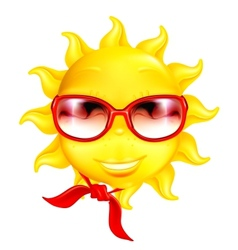 Fun sun vector