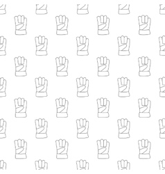 Gauntlet pattern seamless vector