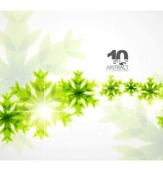 Green christmas concept vector