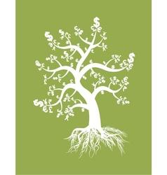 money tree design vector image
