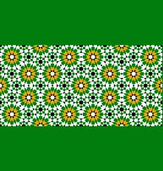 Moroccan zellige seamless vector