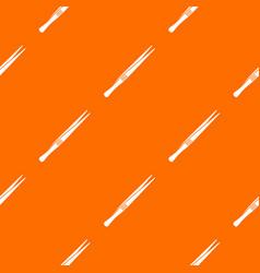 Tweezers pattern seamless vector