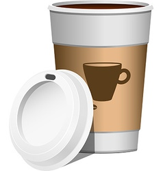 Coffee go on vector image