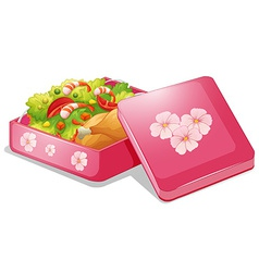 Lunchbox vector image vector image