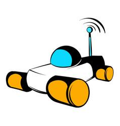 Mars exploration rover icon icon cartoon vector