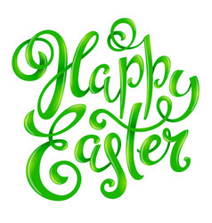 Happy easter poster vector
