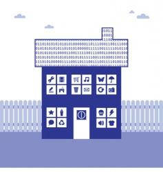 Binary house vector