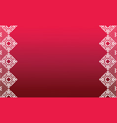 Abstract chinese new year background design01 vector