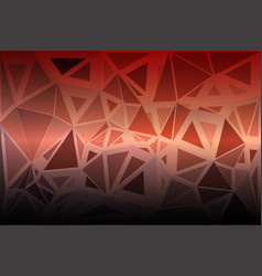 Red orange purple random sizes low poly background vector