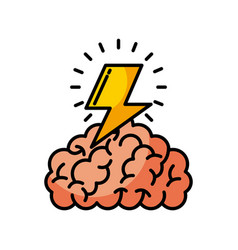 Brain thunder vector