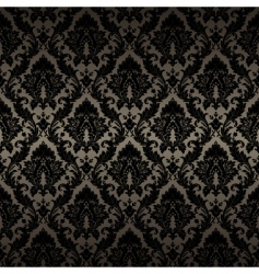 damask wallpaper 1 017 vector image