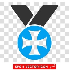 Maltese medal eps icon vector