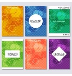 Modern templates for brochure business vector