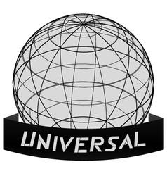 Universal world icon vector