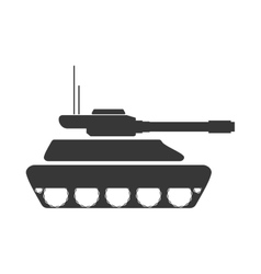 Tank armed forces military icon graphic vector