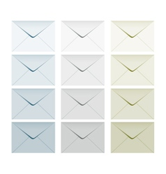 Letter set collection vector