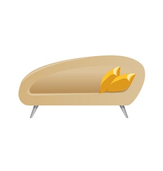 A view of a couch vector