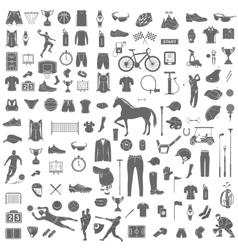 Big set of sport icons vector