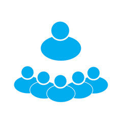 Groups of people on white background groups of vector