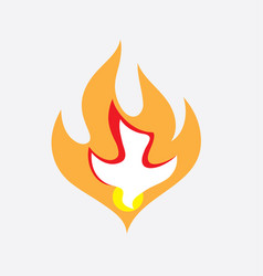 Holyspirit fire vector