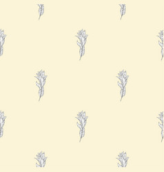 leaves seamless pattern background template for a vector image