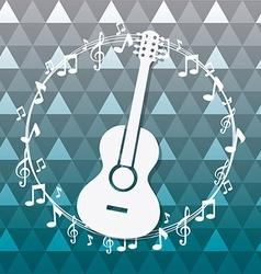 Music digital design vector