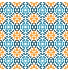 Seamless oriental pattern vector