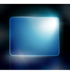 Background with a blue sign vector