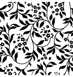 Vine pattern vector