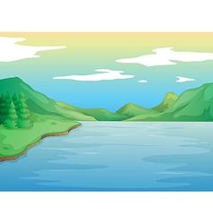 A river vector image