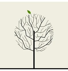 Wood tree vector