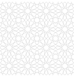 Arabic ornament seamless pattern vector