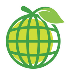 icon logo for global business vector image vector image