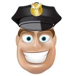 Police man vector