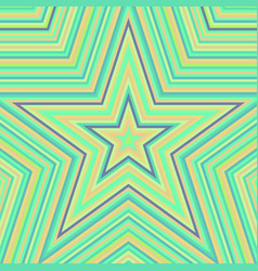 star abstract background vector image