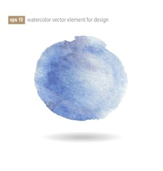 watercolor abstract elements vector image vector image