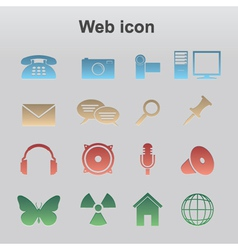 Web icon vector