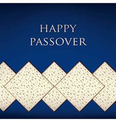 Happy passover vector