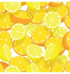 Citrus seamless tile vector