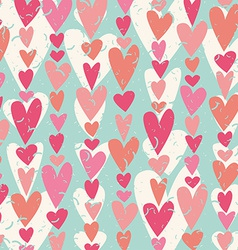 Heart shape pattern vector