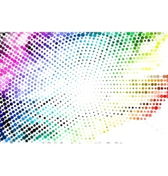 Abstract light technology background vector