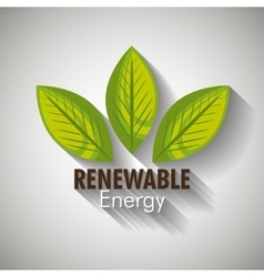 Clean energy design vector