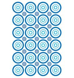 Circle wallpaper vector image vector image